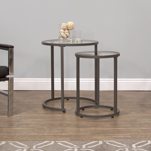 Carbon Loft Heimlich Nesting Tables. Opens flyout.