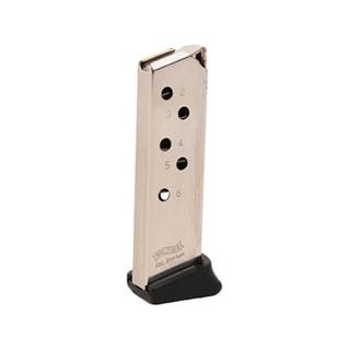 Walther PPK 380 ACP Magazine 6 Round, Finger Rest, Nickel