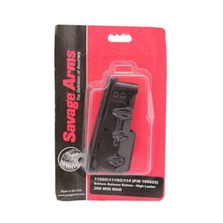 Savage Arms Savage Replacement Magazine Detachable Box Magazin Long Action Magnum Calibers Blue 4 Round