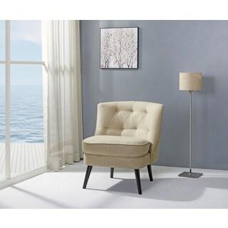Odessa Beige Accent Chair