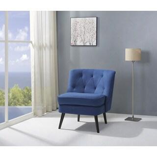 Odessa Navy Accent Chair