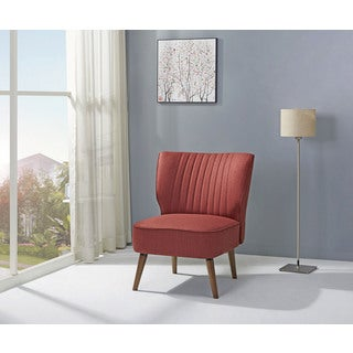 Salem Rustic Red Accent Chair