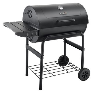 Char-Broil Charcoal 840 Cast Iron Barrel Grill