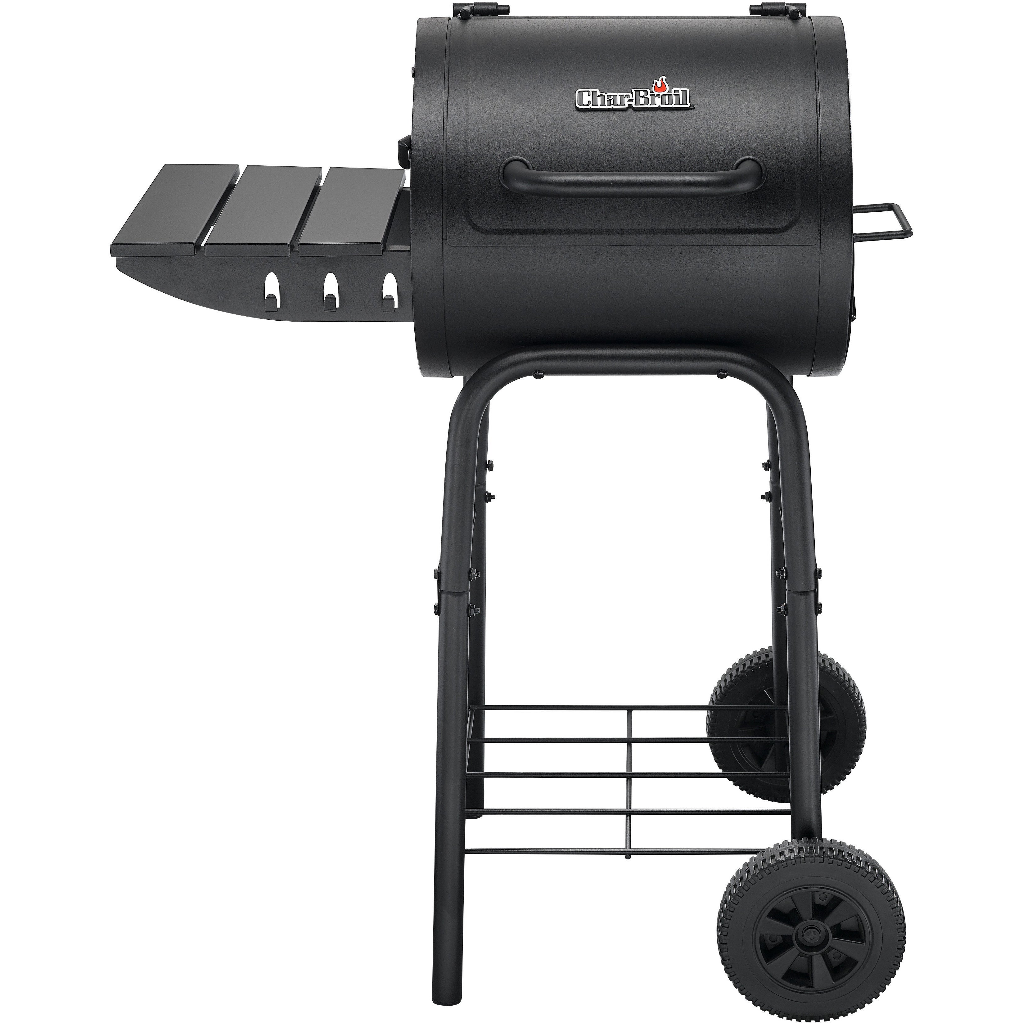 Char-Broil 225 Sq.In. Black Steel Barrel-Style Charcoal (...