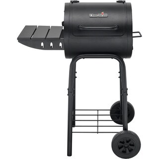 Char-Broil 225 Sq.In. Black Steel Barrel-Style Charcoal Grill