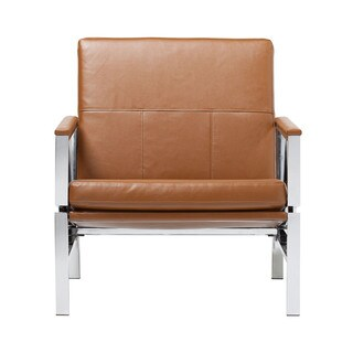 Offex Home Indoor Padded Armrest Bonded Leather Atlas Chair
