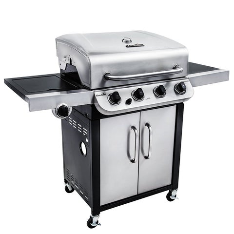 Char-Broil Performance Series 3600 BTU 4 Burner Stainless Steel Gas Grill with Side Burner