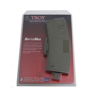 Troy Industries Battlemag 30 Round- Single Olive Drab