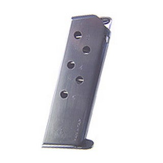 Mecgar Walther PPK 380 Magazine 6 Round, Flat Butt Plate, Blue