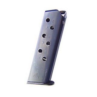 Mecgar Walther PPK/S 380 Magazine 7 Round, Flat Butt Plate, Blue