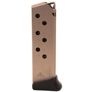 Mecgar Walther PPK/S 380 Magazine 7 Round, Finger Rest, Nickel