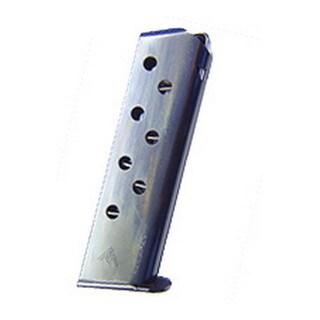 Mecgar Walther 32 ACP Magazine 8 Round, Flat Butt Plate, Blue