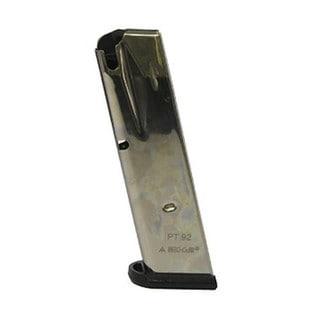 Mecgar Taurus PT92/99, 15 Round Standard Nickel