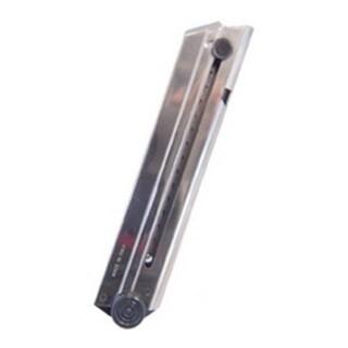 Mecgar Luger P08 8 Round Standard Nickel