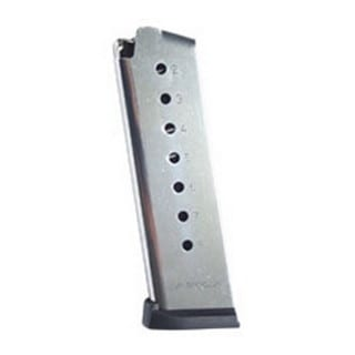 Mecgar 1911 8 Round High Cap Stainless Steel, Plastic