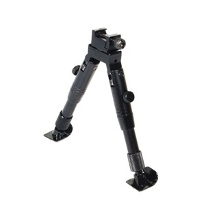 """Leapers Inc. Steel Feet Bipod Shooter's, Height 5.5""""-6.8"""""""