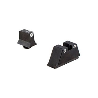 Trijicon Glock Suppressor Night Sight Set White/White