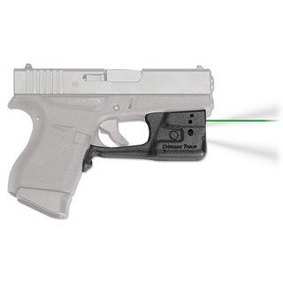 Crimson Trace Laserguard Pro Glock 42 and 43, Green Laser, Boxed