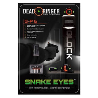 Dead Ringer Glock G-P 6 Optical Lexan Front and Rear Sights