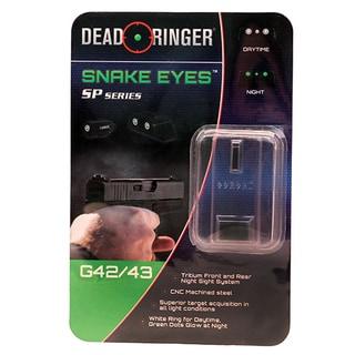 Dead Ringer Replacement Tritium Night Sight Glock 42