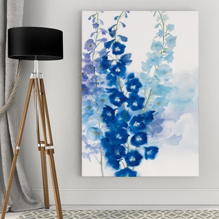 Delphinium I Canvas Wall Art