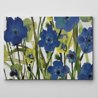Picking Flowers Canvas Wall Art