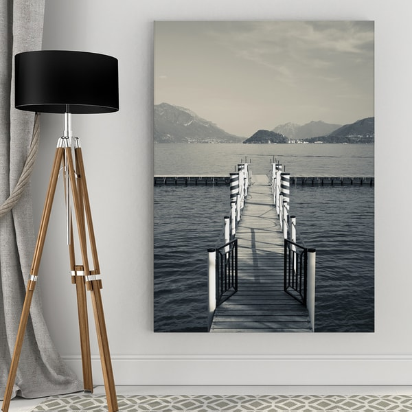 Dock View Canvas Wall Art