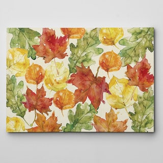 Autumn Leaves Canvas Wall Art