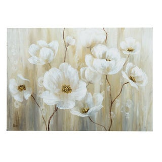 Shimmering Blossoms Canvas Wall Art