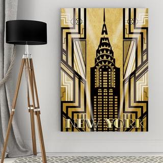 NY Deco Canvas Wall Art