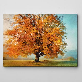 Autumn's Passion Canvas Wall Art