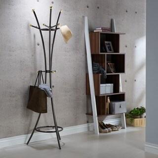Furniture of America Cara Contemporary Metal Hall Tree/Coat Rack