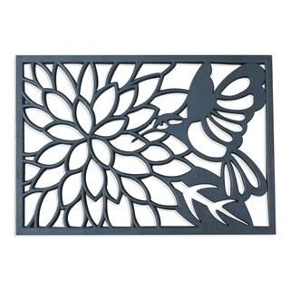 A1HC First Impression Rubber Hummingbird Doormat (1'8 x 2'6)