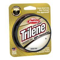 "Berkley Trilene 100% Fluorocarbon Professional Grade Line Spool 200 Yards, 0.011"" Diameter, 8 lbs, Breaking Strength, Green Tint"