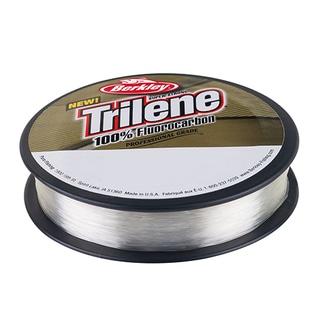 """Berkley Trilene 100% Fluorocarbon Professional Grade Line Spool 110 Yards, 0.011"""" Diameter, 8 lbs, Breaking Strength, Clear"""