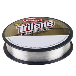 """Berkley Trilene 100% Fluorocarbon Professional Grade Line Spool 110 Yards, 0.007"""" Diameter, 4 lbs, Breaking Strength, Clear"""