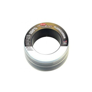 "Berkley ProSpec 100% Fluorocarbon Leader Mat 100 Yards, 0.022"" Diameter, 30 lbs Breaking Strength, Clear"