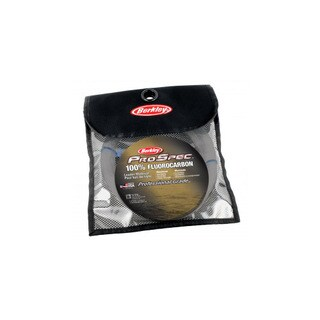 "Berkley ProSpec 100% Fluorocarbon Leader Mat 33 Yards, 0.041"" Diameter, 100 lbs Breaking Strength, Clear"