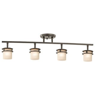 Link to Kichler Lighting Hendrik Collection 4-light Olde Bronze Rail Light Similar Items in Track Lighting