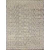 Noori Rug Fine Oushak Kyndall Grey-Green/Ivory Rug - 9'1 x 12'0