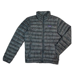 Patagonia Men's Forestland Industrial Green Sweater Jacket