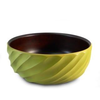 Handmade Avocado Spiral Mango Salad Bowl (Thailand)