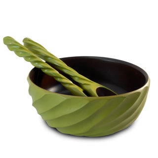 Avocado Spiral Mango Salad Bowl Set (Thailand)