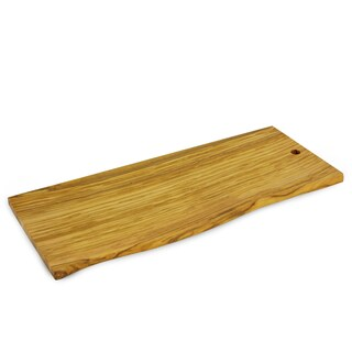 Handmade Large Olive Wood Live Edge Cutting Board (China)