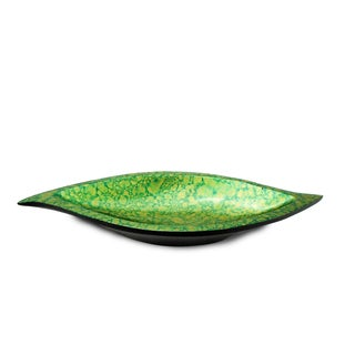 Green/ Gold S-Shape Tray (Thailand)