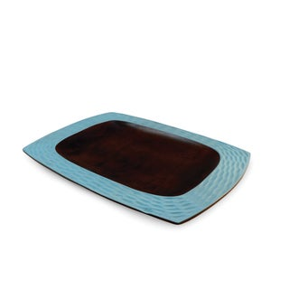 Turquoise Honeycomb Platter (Thailand)