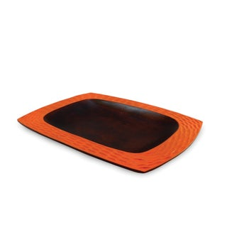 Handmade Tangerine Honeycomb Platter (Thailand)