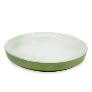 Handmade Sagebrush Round Platter (Thailand)