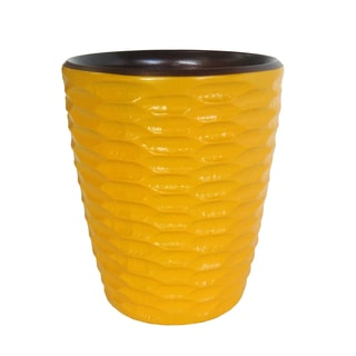 Sunflower Honeycomb Mango Utensil Vase (Thailand)