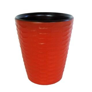 Tangerine Honeycomb Mango Utensil Vase (Thailand)